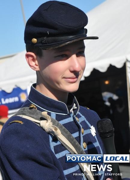 Zachary Mumma, re-enactor