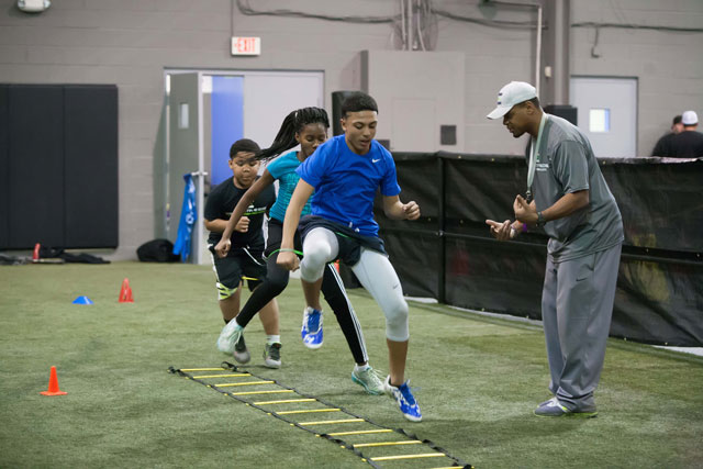 Competitive Edge trainers encourage children to young adults by getting to know them personally, working with them no matter what level they are when they start and giving them guidance to build skills and self-esteem.