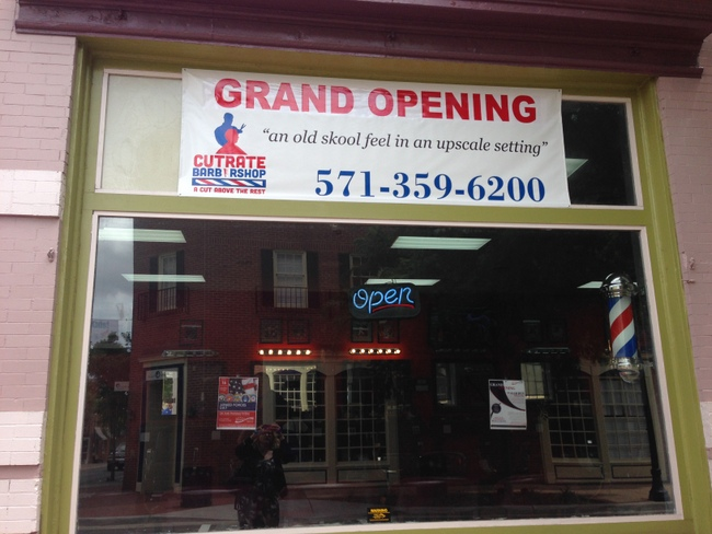 They are one of several barbershops in Downtown Manassas.