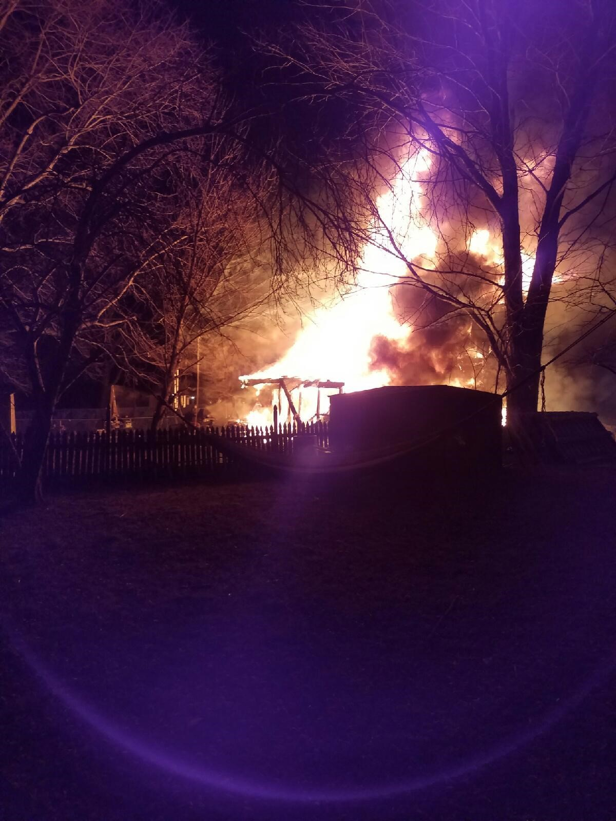 Findley Road Fire Incident Photo1