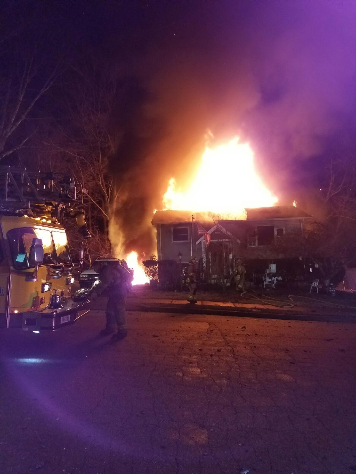 Findley Road Fire Incident Photo2