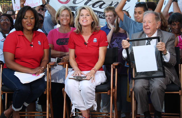 WTTG Channel 5 broadcasts morning show from Manassas.