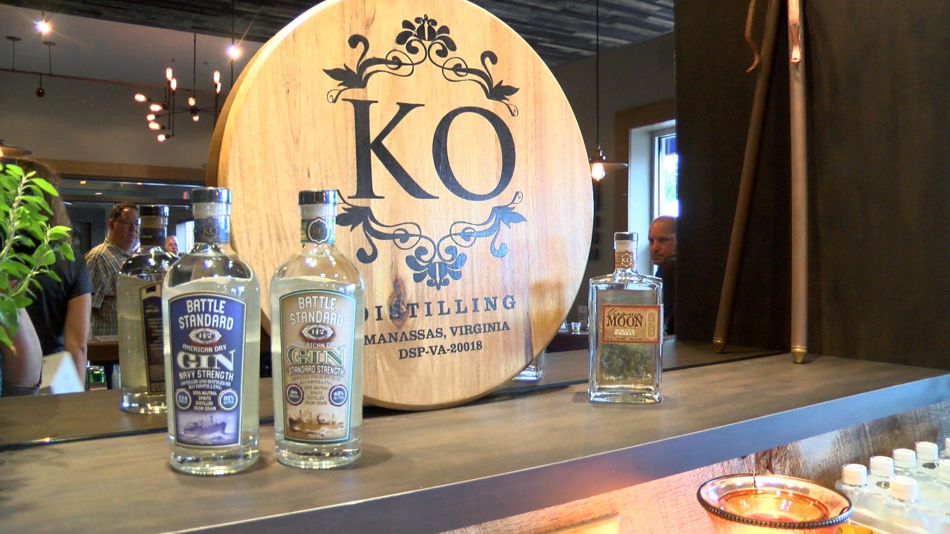 KO Distilling Bottles