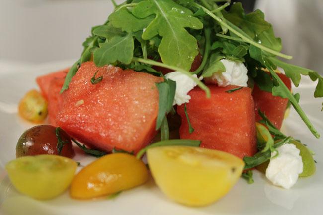 Watermelon Salad at The Tidewater Grill at Potomac Shores