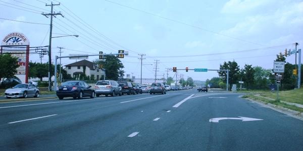 U.S. 1 at Occoquan Road in North Woodbridge.