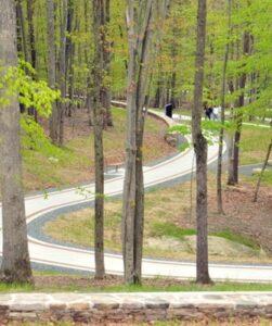 Semper Fidelis Memorial Park in Triangle. (Mary Davidson/PotomacLocal.com)