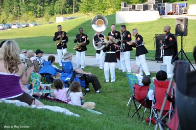 Quantico Marine Corps Band begins its summer concert series tonight (File photo)