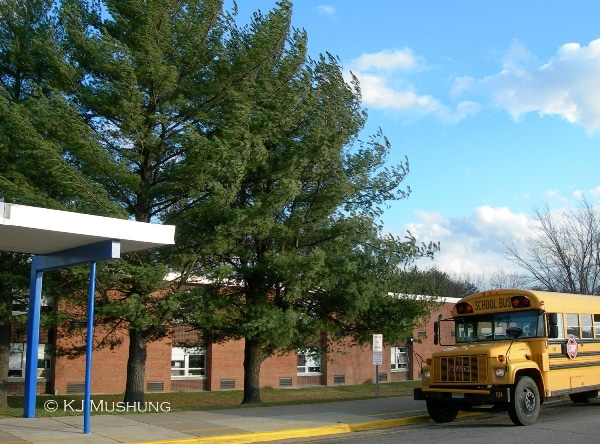 Moncure Elementary School in North Stafford. (Photo: KJ Mushung/PotomacLocal.com)