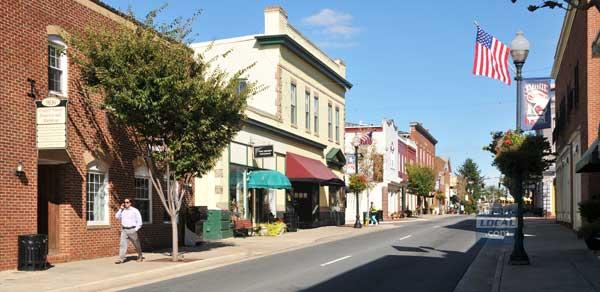 Old Town Manassas (Mary Davidson/PotomacLocal.com)