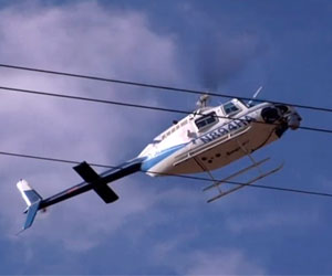 Dominion power to use helicopters for transmission line for Domon power release