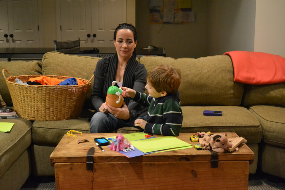 Janeane Garofalo and Adrian Fucito in scene from Bad Parents (Credit: Fox Meadow Films)