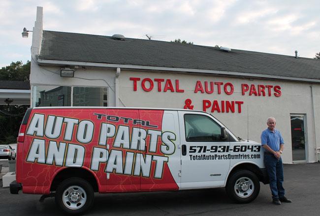 Total Auto Parts And Paint Dumfries Va