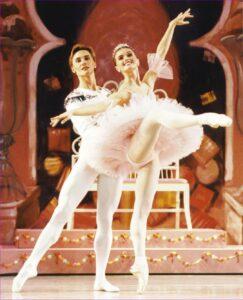 """Irina Dvorovenko & Maxim Beloserkovsky, Stars of American Ballet Theatre."