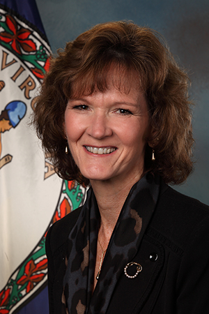 Karen Jackson, Virginia Secretary of Technology.