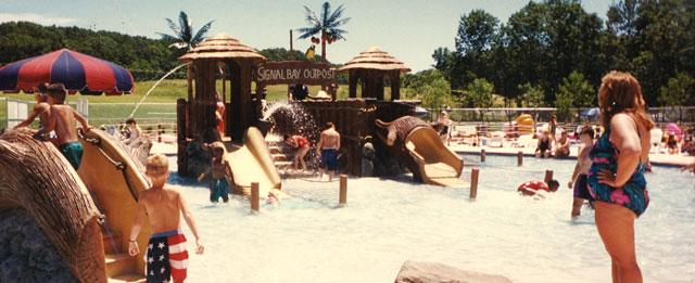Signal Bay Waterpark in 1996.