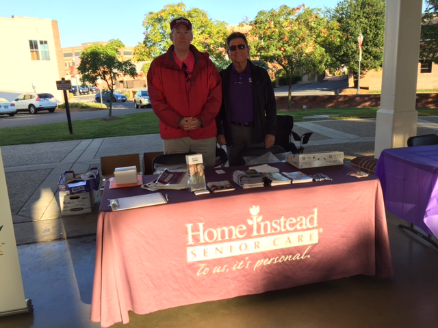 Home Instead Senior Care of Manassas participates in the Walk to End Alzheimer's.