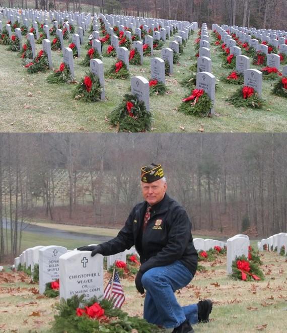 VFW Post Commander Chuck Wilson