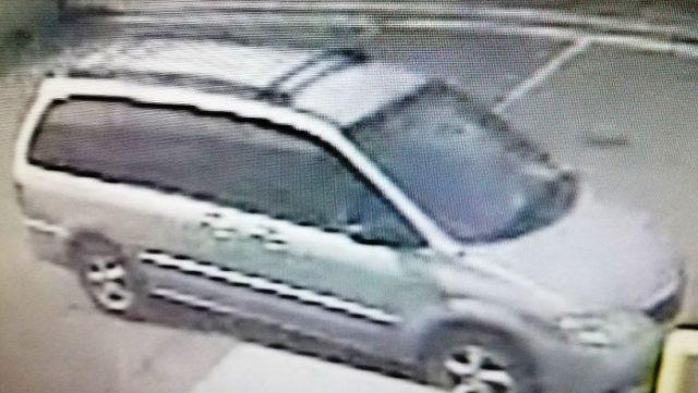 Wells Fargo Suspect Vehicle