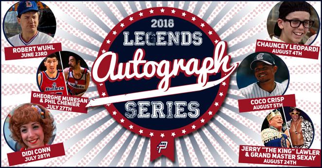 90da765604e Get autographs from sports, cinema legends, courtesy of P-Nats