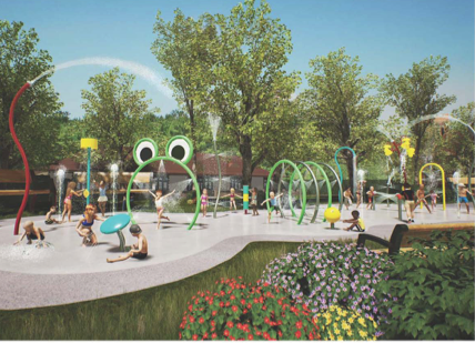 City ready to unveil improved stonewall park pool for Dixon park swimming pool fredericksburg va